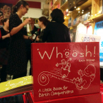 Launch of Whoosh! A Little Book for Birth Companions at Pinter&Martin offices, London