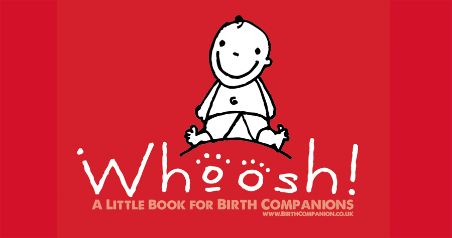 Illustration of Whoosh baby logo